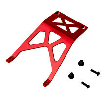 Traxxas Monster Jam 1:10 Alloy Front Skid Plate, Red by Atomik - Replaces 3623