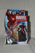 "Marvel Universe Iron Man Extremis Armor Hasbro 2009 Series 2 #007 3.75"" Avenger"
