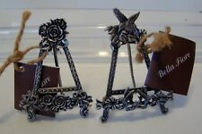 2-Freestanding CARD OR Photo Frame HOLDER by BELLA FIORE-c31