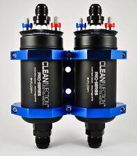 Dual 340LPH inline EFI fuel pump 8an 10an bosch 044 style external -8 340 LPH