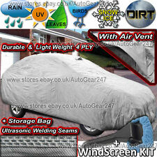 For Volvo V70 Estate 4 Ply Waterproof Ultra Seams Breathable Full Car Cover CCO