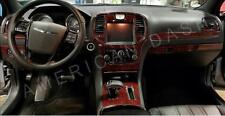 2015 2016 2017 INTERIOR BURL WOOD DASH TRIM KIT SET FOR CHRYSLER 300 300 C S
