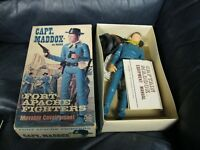 VINTAGE 1967 Capt Maddox Fort Apache Fighters Johnny WEST #1865 Figure in Box
