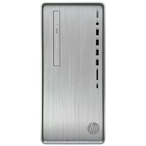 HP Pavilion TP01 Tower Desktop - AMD Ryzen 5 4600G, AMD Radeon Graphics, DVD-RW