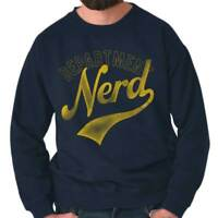 Department Nerd Science Math Geek Sports Crewneck Sweat Shirts Sweatshirts