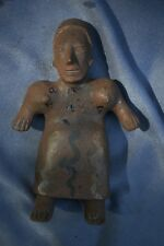 "Orig $399. Pre Columbian Nayarit Figure 7"" Provenance"