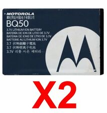 LOT OF 2 OEM MOTOROLA BQ50 W370 W370R W376 W376g W377 Active W450 VE240 Rokr E2