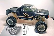 Traxxas hawk Rc truck - Shelf Queen - With XL1 ESC and Bolink motor carbon body