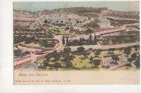 Mont Des Oliviers Mount Of Olives Jerusalem Vintage U/B Postcard 362b