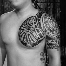 Chest Arm Temporary Tattoo Sticker Waterproof Fake Sleeve Flash Tattoo Men Woman
