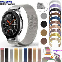 For Samsung Galaxy Watch 42 46mm/Active Mesh Milanese Stainless Steel Strap Band