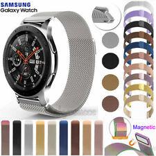 Для Samsung Galaxy часы 42 46 мм/активный сетка Миланская нержавеющая сталь ремешок лента