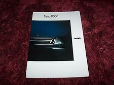 Catalogue /  Brochure SAAB 9000  1989 //