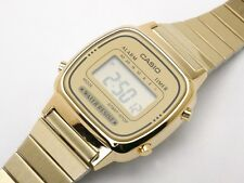 LATEST CASIO LA670WGA-9D LA670GA VINTAGE DIGITAL WOMEN'S GOLD WATCH NEW