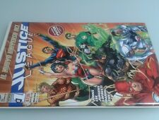 RW LION JUSTICE LEAGUE N 1 ORIGINALE CON POSTER