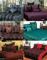 Phase 2 Warlord Oriental Jacquard Quilt Doona Cover Set - DOUBLE QUEEN KING