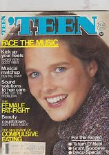 OCT 1979 TEEN vintage teen magazine FACE THE MUSIC