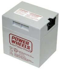 NEW 00801-0638 Battery 12 Volt Gray  Genuine Power Wheels Fisher Price Grey 12V