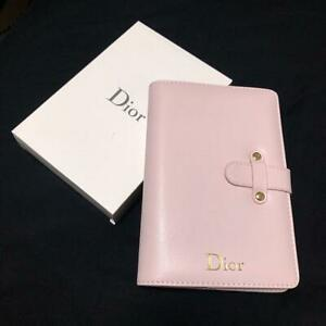 Christian Dior Daily Planner Agenda note Pink Unused No damage