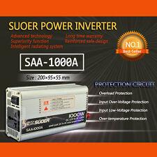 Intelligent 1000watt DC 12 Volt To AC 230v Solar Power Inverter Free Shipping