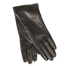 Brand NWT DARK BROWN Sz 7.5 Portolano Cashmere Italian Leather Gloves, $170