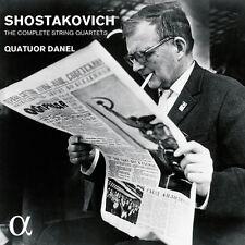 Shostakovich / Quatu - Shostakovich: The Complete String Quartets [New CD]