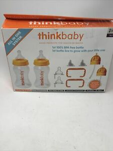 Lot Of (2) Think Baby Thinker Bottle System (All-In-One), Think Baby, (D-3)