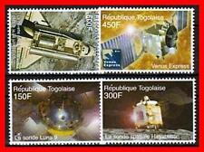 TOGO 2006 SPACE / SET SC#2031-34MNH CV$5.75