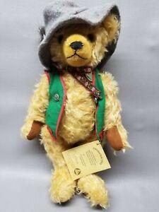 "Hermann 1995 Oktoberfest Teddy Germany Bear collectible 16"" tall"