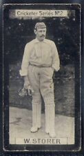 CLARKE-CRICKET ER SERIES-#02- DERBYSHIRE - STORER