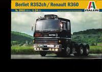 ITALERI 1:24 KIT TRUCK CAMION BERLIET R352CH RENAULT R360  ART 3902