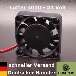 Lüfter 4010 40mm Brushless 24V 3D-Drucker Bauteilkühlung Extruder Fan
