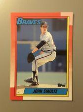 1990 Topps Tiffany John Smoltz #535 NMMT or Better