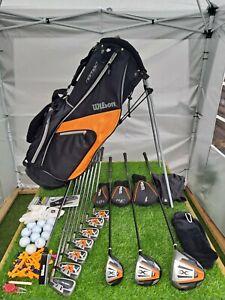 Men's Wilson X31 Golf Club Set & Stand Bag - Steel & Graphite Shafts - RH