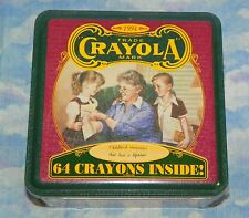 Crayola Collector's Colors Limited Edition Tin 64 Pack Crayons 1994