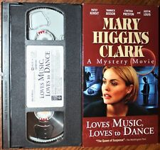 LOVES MUSIC, LOVES TO DANCE (vhs) Patsy Kinset, Cynthia Preston. VG Cond. Rare