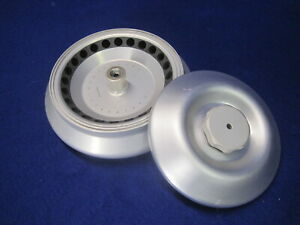 Eppendorf  16F24-11 Centrifuge Rotor 24 x 4.5 g 15000 rpm use in 5416 5403 5417c