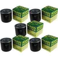 5x MANN-FILTER Filtro Olio Filtro Olio W 920/7 Olio Filtro