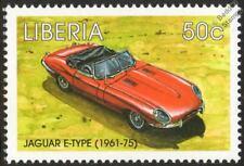 1961-1975 JAGUAR E-TYPE Mint Automobile Car Stamp (1998 Liberia)