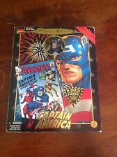 MARVEL FAMOUS COVER SERIES 8in CAPTAIN AMERICA FIRST APPEARANCES FIG!