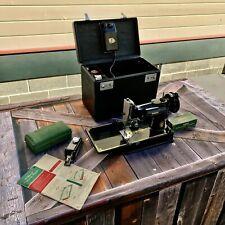 Vintage 1951 Singer Featherweight Sewing Machine.