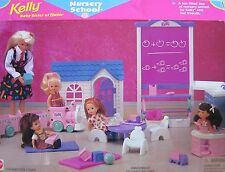 KELLY BABY SISTER OF BARBIE NURSERY SCHOOL, NRFB (1996 ARCOTOYS, MATTEL)