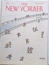 The New Yorker Magazine Guinea Hens January 7, 1985 091417nonrh