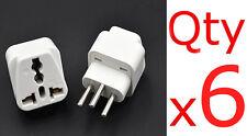 6PK EU AU UK US To Switzerland Travel Adapter Plug Type J Swiss Converter