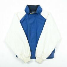 90s Vintage Nautica chaqueta de vela   Abrigo para hombre L   Retro Impermeable De Los Noventa