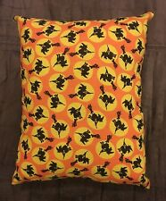 Beautiful Handmade Halloween Accent - Throw Pillow - Witches