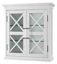 Elegant Home Fashions - ELG-629 - Blue Ridge Wall Cabinet With Two Doors White