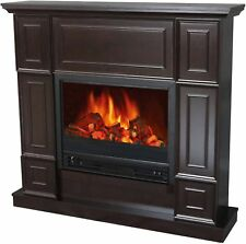 New Classic Electric Fireplace 44 Inch Mantle Room Heater 3750 BTU Fire Place