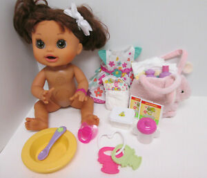 Hasbro Baby Alive Real Surprises Hispanic Brunette English Spanish 2012 Works
