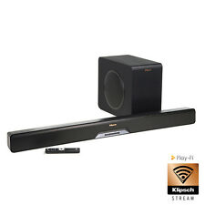 "Klipsch RSB-14 SOUND BAR + 8"" WIRELESS SUBWOOFER"